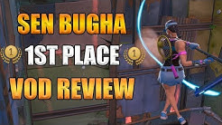 VOD Review: Bugha from 1st Place Run WC Qualifiers