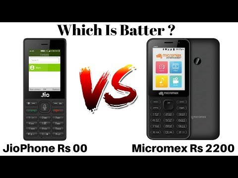 Reliance JioPhone Vs Micromex Bharat 1 | 4G Feature Phones Which Is Batter ?