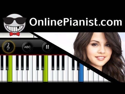 Selena Gomez - Love You Like A Love Song - Piano Tutorial