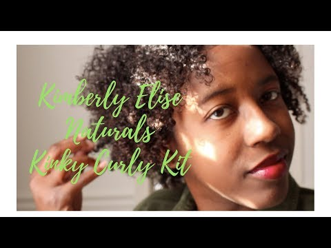 Kimberly Elise Naturals:Kinky Curly Kit Product