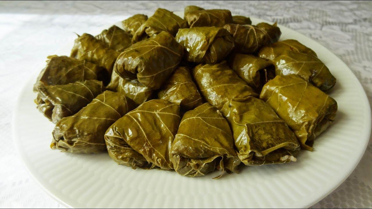 Recette des feuilles de vigne farcies au riz maman cuisine youtube - Avec quoi tuer des asticots ...