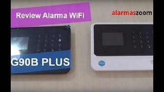 Review alarma WiFi G90B Plus