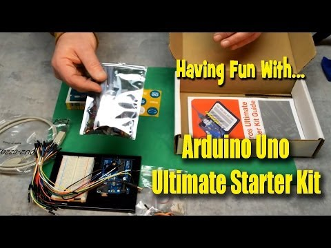 Having Fun With Arduino Uno Ultimate Starter Kit