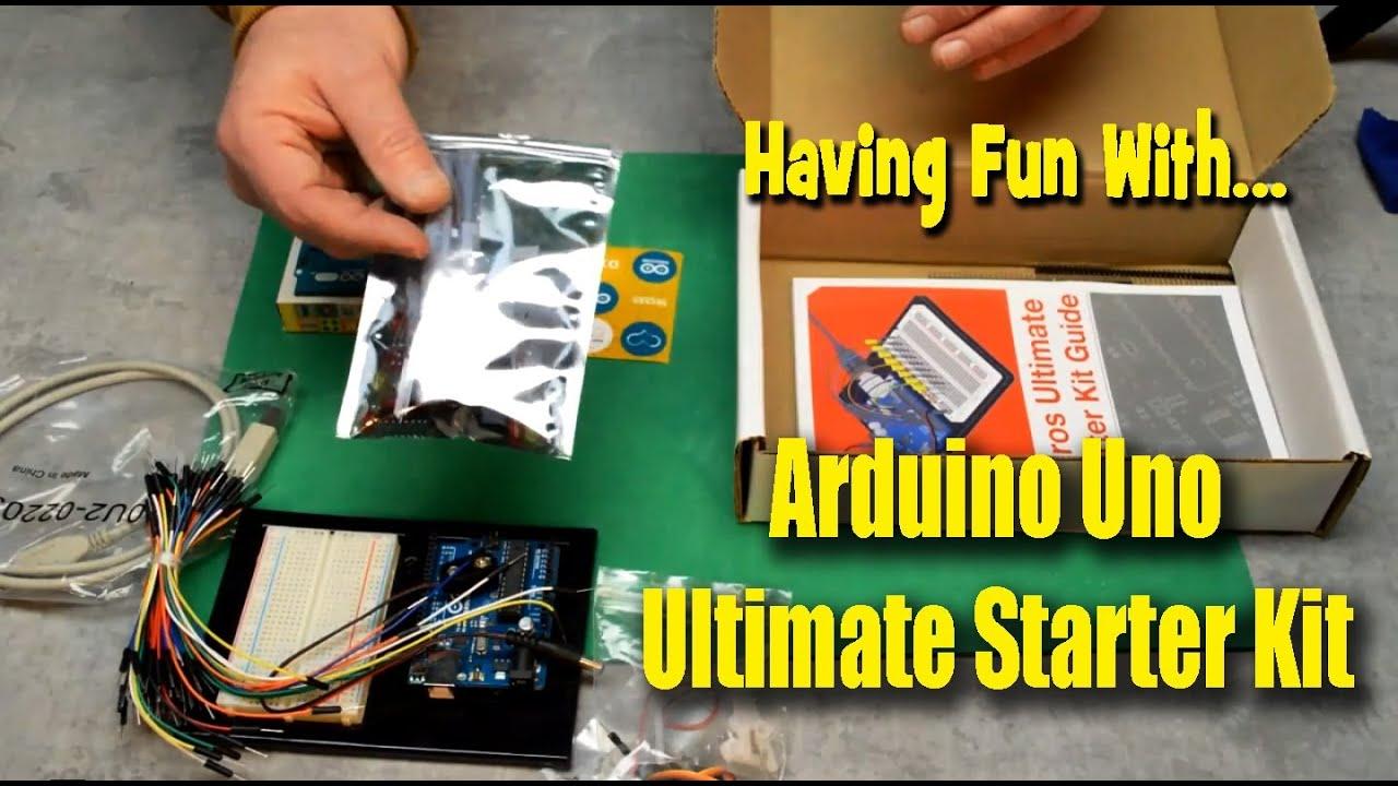 Having Fun With Arduino Uno Ultimate Starter Kit - YouTube