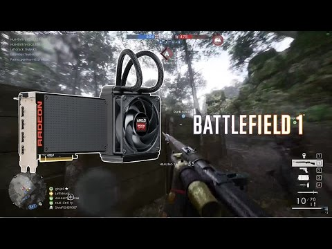 Battlefield 1 Multiplayer - DirectX 12 Ultra Settings 1080p Performance - AMD Radeon R9 Fury X
