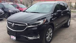 2018 Buick Enclave AWD Avenir 360 Camera Hands Free Hatch Black Oshawa ON Stock #181044