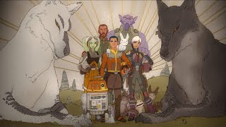 Star Wars Rebels Season 4 Finale: Epilogue (With Extended Flashbacks)