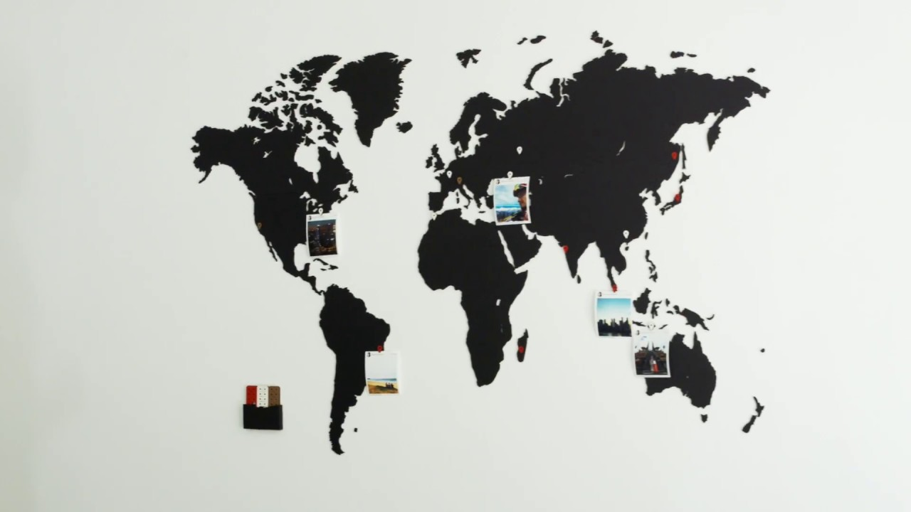 World Map Wall Decoration By MiMi