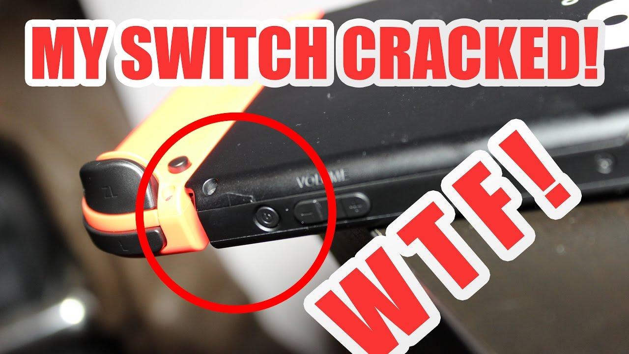 Crack nintendo switch