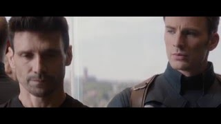 Captain America: Winter Soldier - Драка в лифте