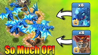 This New Electro Dragon Is So Much OP In Clash Of Clans! - OP Attack Strategy!