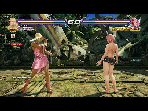 TEKKEN 7 LuckyEevee (Lili) Vs The Executioner (Alisa)