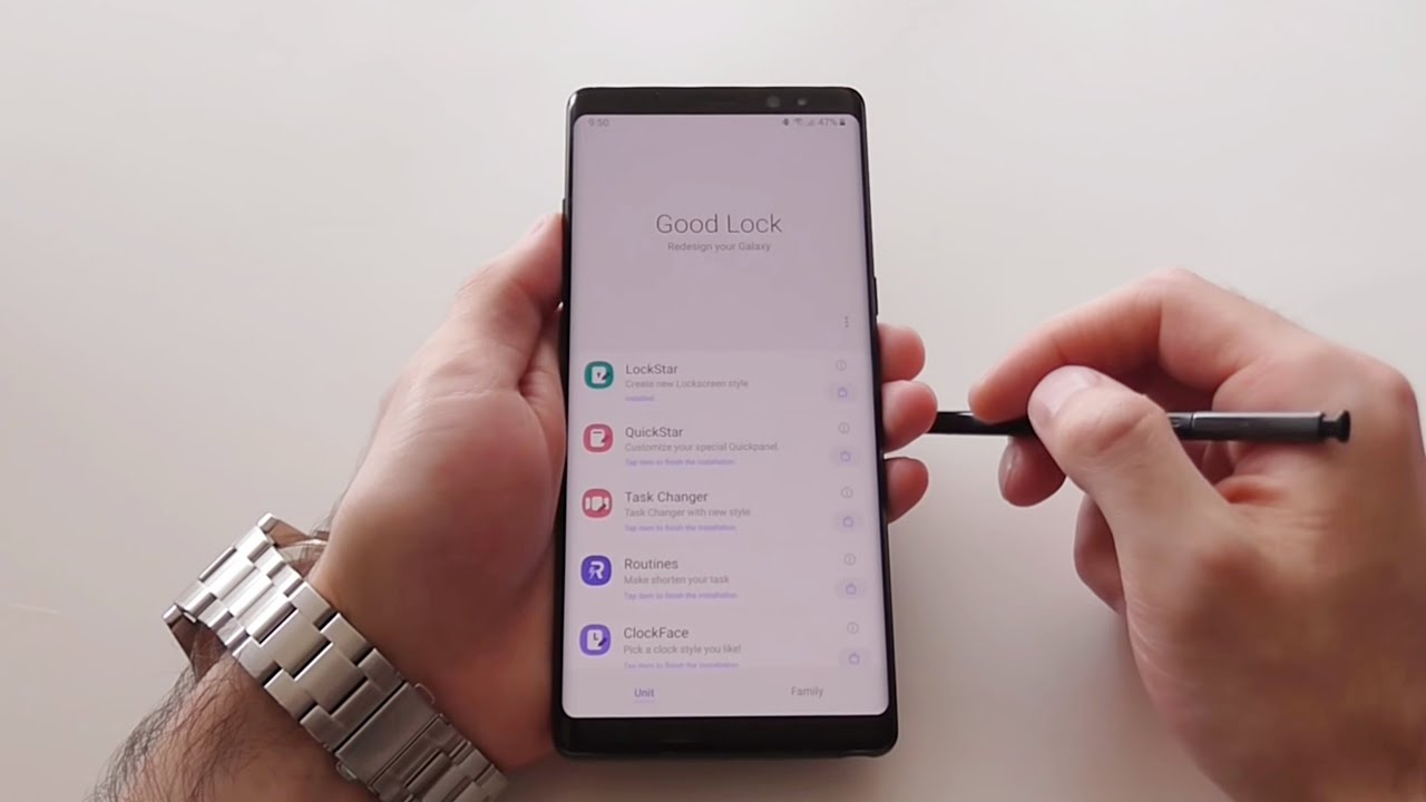 Samsung Good Lock 2019 [Junio] - One UI Android 9 Pie S8 S9 S10 Note 8 Note  9