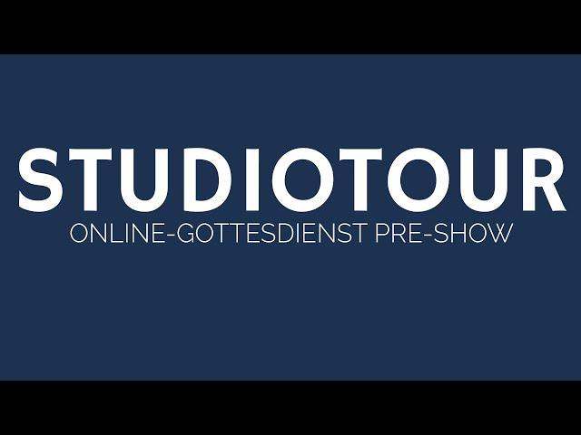 So wird unser Online-Gottesdienst produziert! | ELIM KIRCHE GEESTHACHT | HD