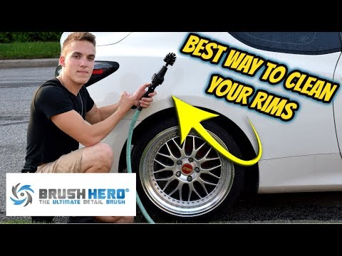 Brush Hero, Best Way To Clean Your RIMS!!! (S02 E02)