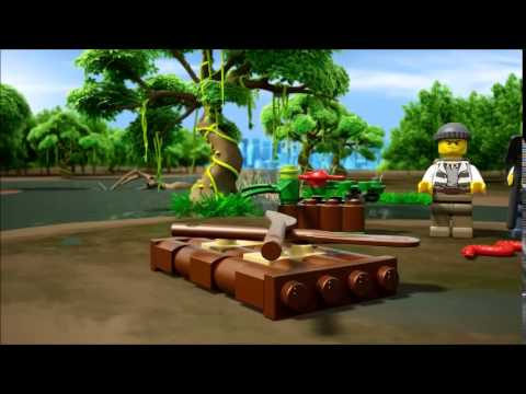 Lego City Policja Z Bagien 60066 Youtube