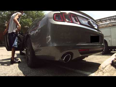 Repeat Brief Walk through of 2014 Mustang v6 with Mods by