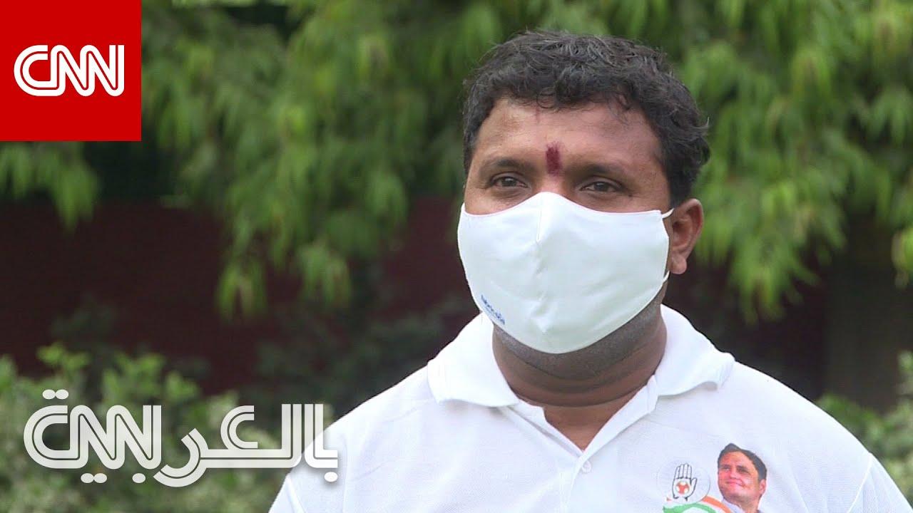 رجل يكافح لإيجاد الأكسجين لمرضى فيروس كورونا في الهند  - نشر قبل 9 ساعة
