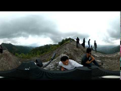 Balumgala Kadugannawa in Sri Lanka 360 time lapse video