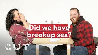 Ex Husband & Wife Play Truth or Drink | Truth or Drink | Cut