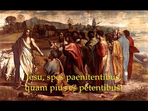 Jesu Dulcis Memoria by Saint Bernard of Clairvaux - Gregorian Chant