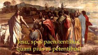 Jesu Dulcis Memoria - Traditional Catholic Latin Songs