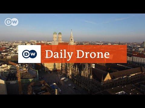 #DailyDrone: Marienplatz, Munich