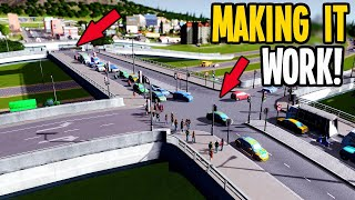 How to Fix Traffic When you First Upgrade to High Density in Cities Skylines