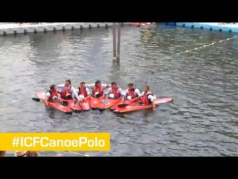 LIVE PITCH 2 - Sunday 28   Canoe Polo World Championships 2014