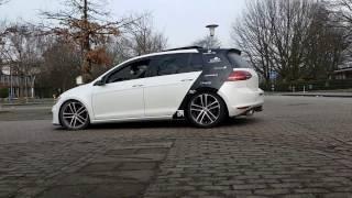 NRW-Coding.de Golf GTD 7 / Mk7 / MkVII Active Sound Booster , Probefahrt