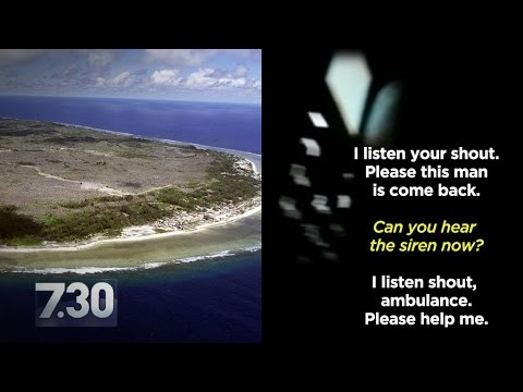 Disturbing content: Refugee on Nauru calls police after rape