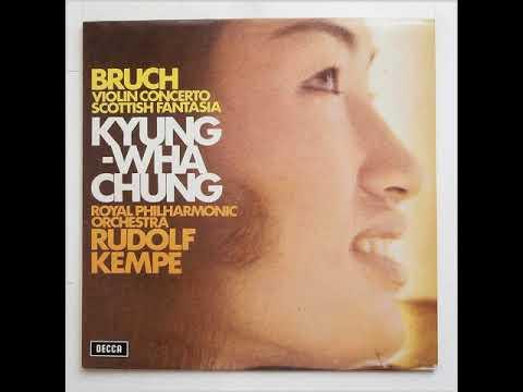 Bruch Violin Concerto No.1 In G Minor, Op. 26: Decca – SXL 6573  VINYL RIP