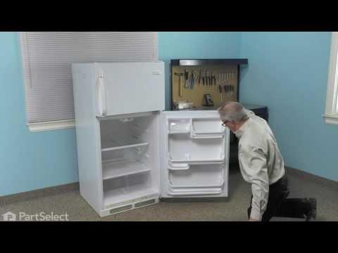 replacing the fresh food door gasket - white