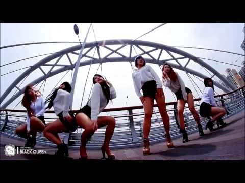 PSY GENTLEMAN DANCE COVER By BLACK QUEEN (Korean Girl Dance Group 싸이젠틀맨,블랙퀸 With Dance Tutorial)
