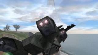 Halo CE - Flying a Pelican on Death Island