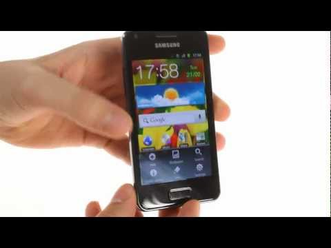 Samsung I9070 Galaxy S Advance user interface