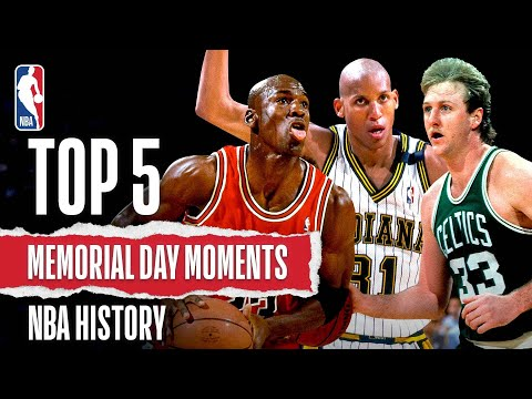 Top 5 Memorial Day Moments | NBA History