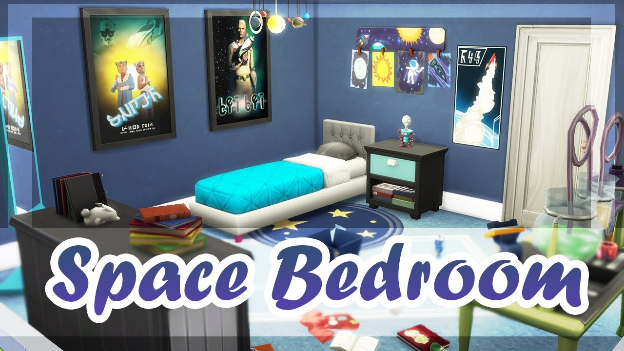 The Sims 4 | My First Solar System | Kids Bedroom | SPEED BUILD ...