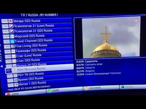 Russian iptv channels