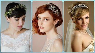 Top 20 💖 modne fryzury na wesele na krótkie włosy