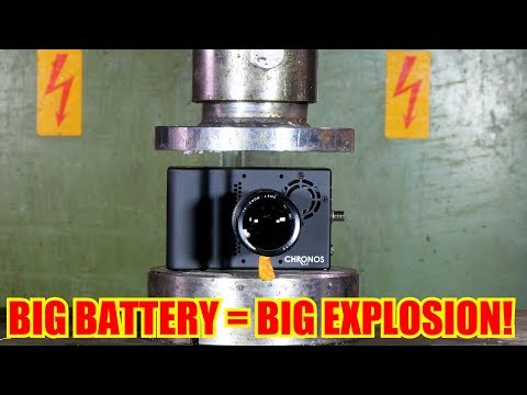 Download Youtube: Crushing REAL High Speed Camera with Hydraulic Press