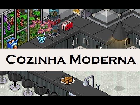 arquiteto habbo cozinha moderna 1 youtube