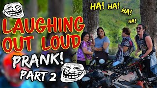 Laughing Out Loud In Public Prank Part 2!!