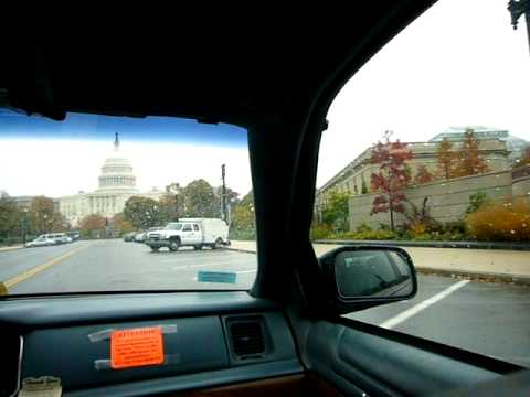 On The Taxi - US Capitol in Washington DC