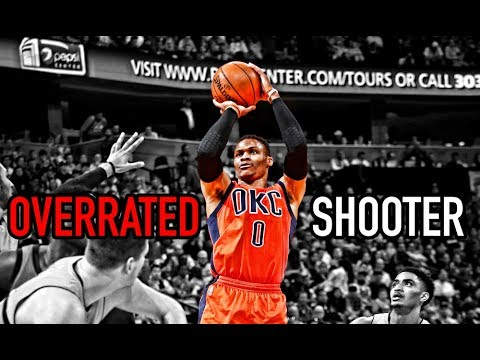 Russell Westbrook is a Bad Three Point Shooter