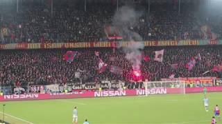 FCB-ManCity: Fans hören nicht auf zu singen - 13.02.2018