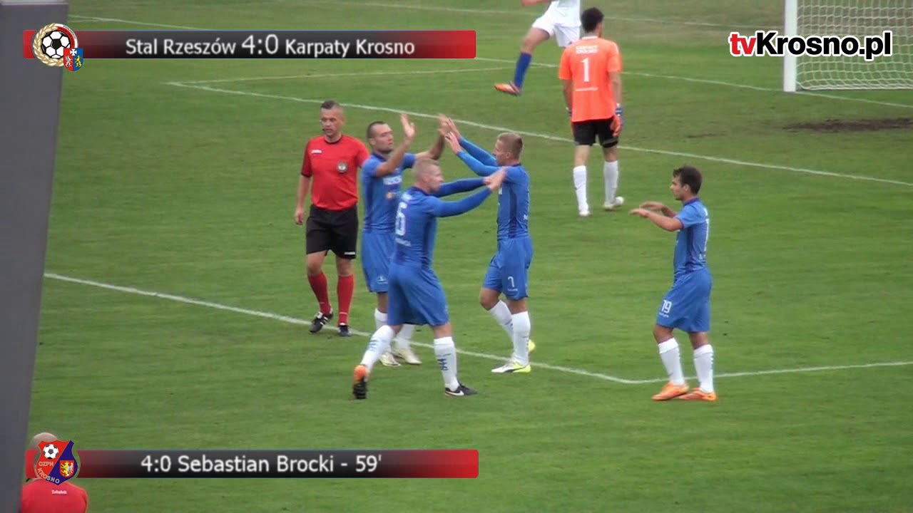 Karpaty rozbite przez Stal Rzeszów. Krośnianie z pierwszym golem w sezonie