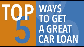 Used Car Loans - How to Get a Great Deal
