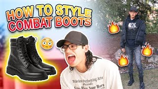 HOW TO STYLE: COMBAT BOOTS