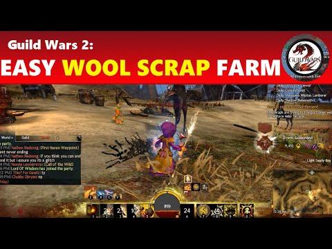 Guild Wars 2: Easy Wool Scrap Farming
